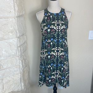 Floral Halter Sun Dress